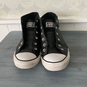 Converse Leather All Star High Tops Sz 12.5